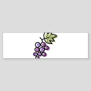 GRAPES [1 lt purple] Sticker (Bumper)